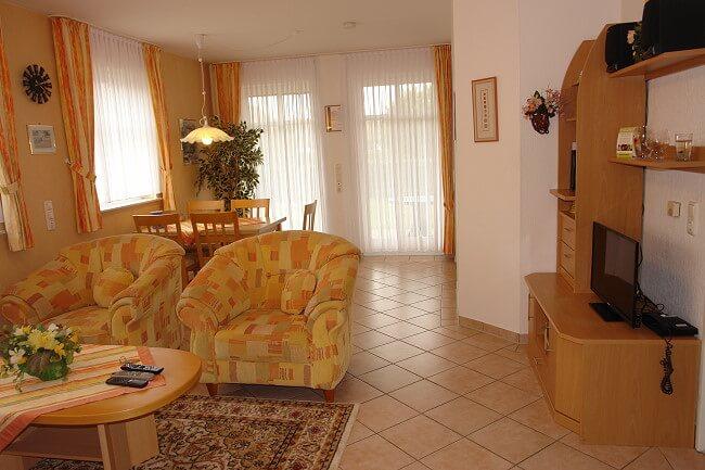 Wohnung Jever - Wohnbereich 2