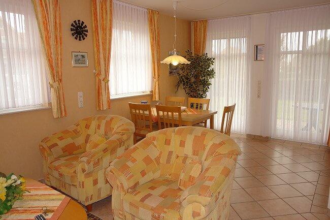 Wohnung Jever - Wohnbereich 3