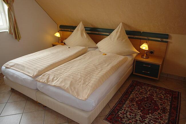 Wohnung Norderney - Schlafzimmer 1