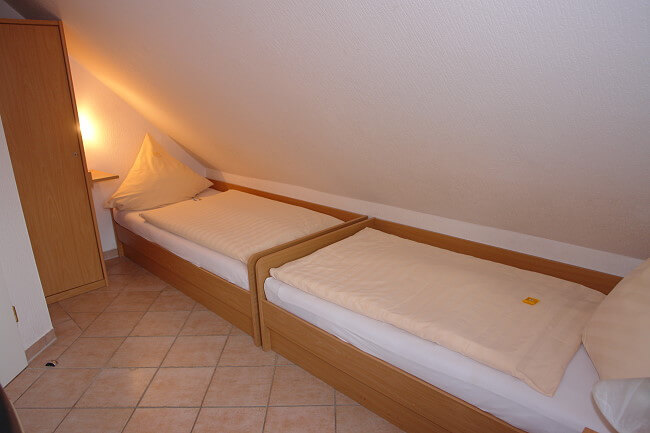 Wohnung Norderney - 2. Schlafzimmer 1