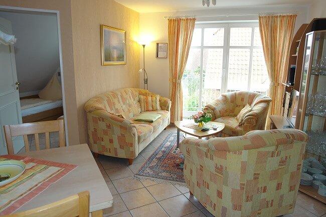 Wohnung Norderney - Wohnbereich 1