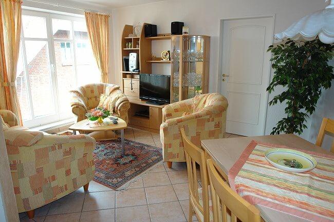 Wohnung Norderney - Wohnbereich 2