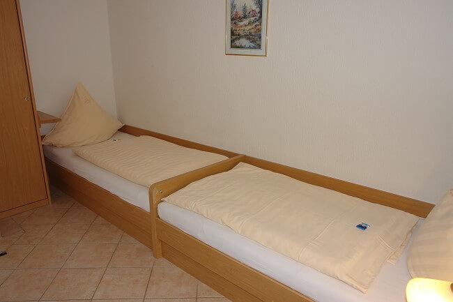 Wohnung Wangerooge - 2. Schlafzimmer 1
