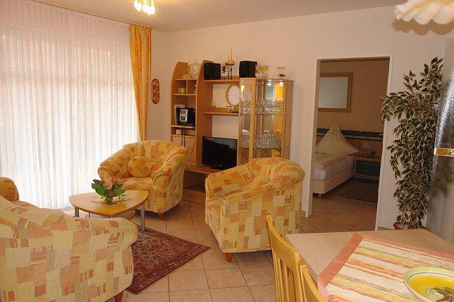 Wohnung Wangerooge - Wohnbereich 1