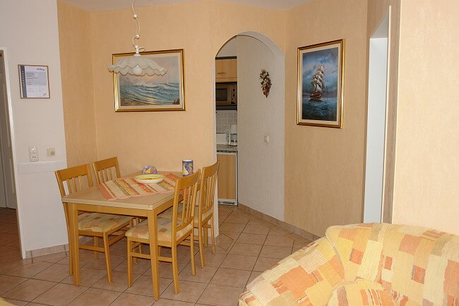 Wohnung Wangerooge - Wohnbereich 4