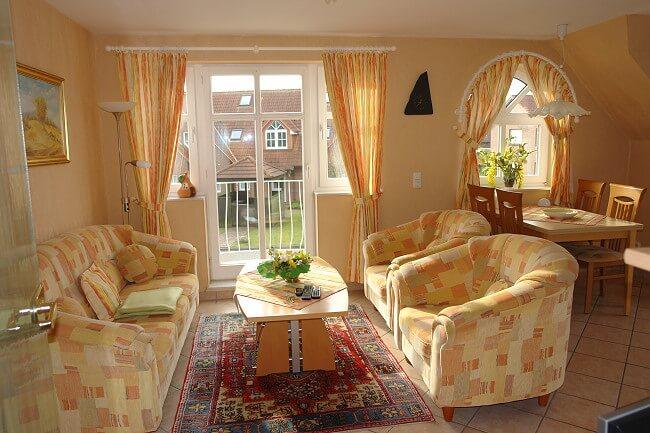 Wohnung Wittmund - Wohnbereich 1